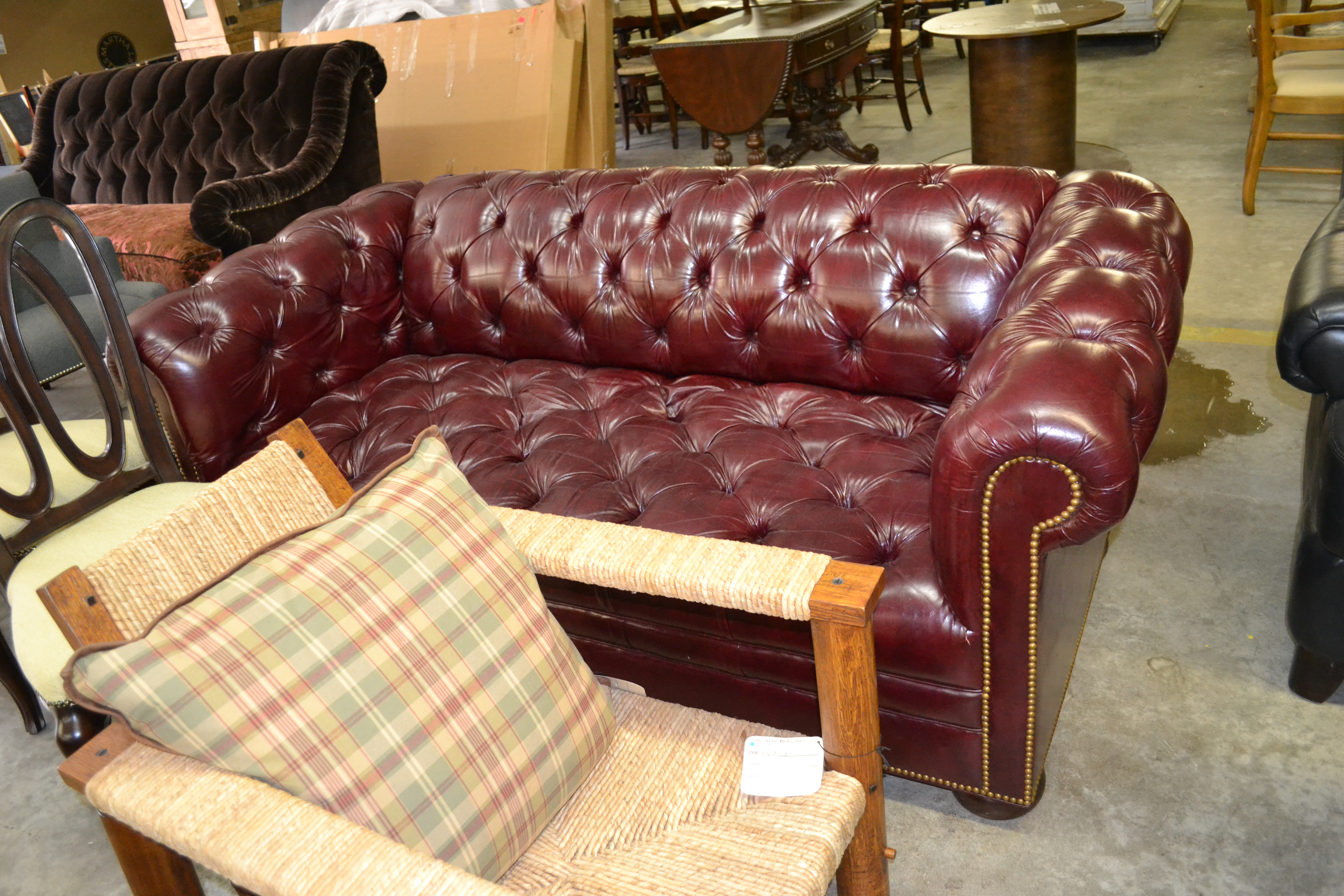 Chesterfield Sofa SOLD