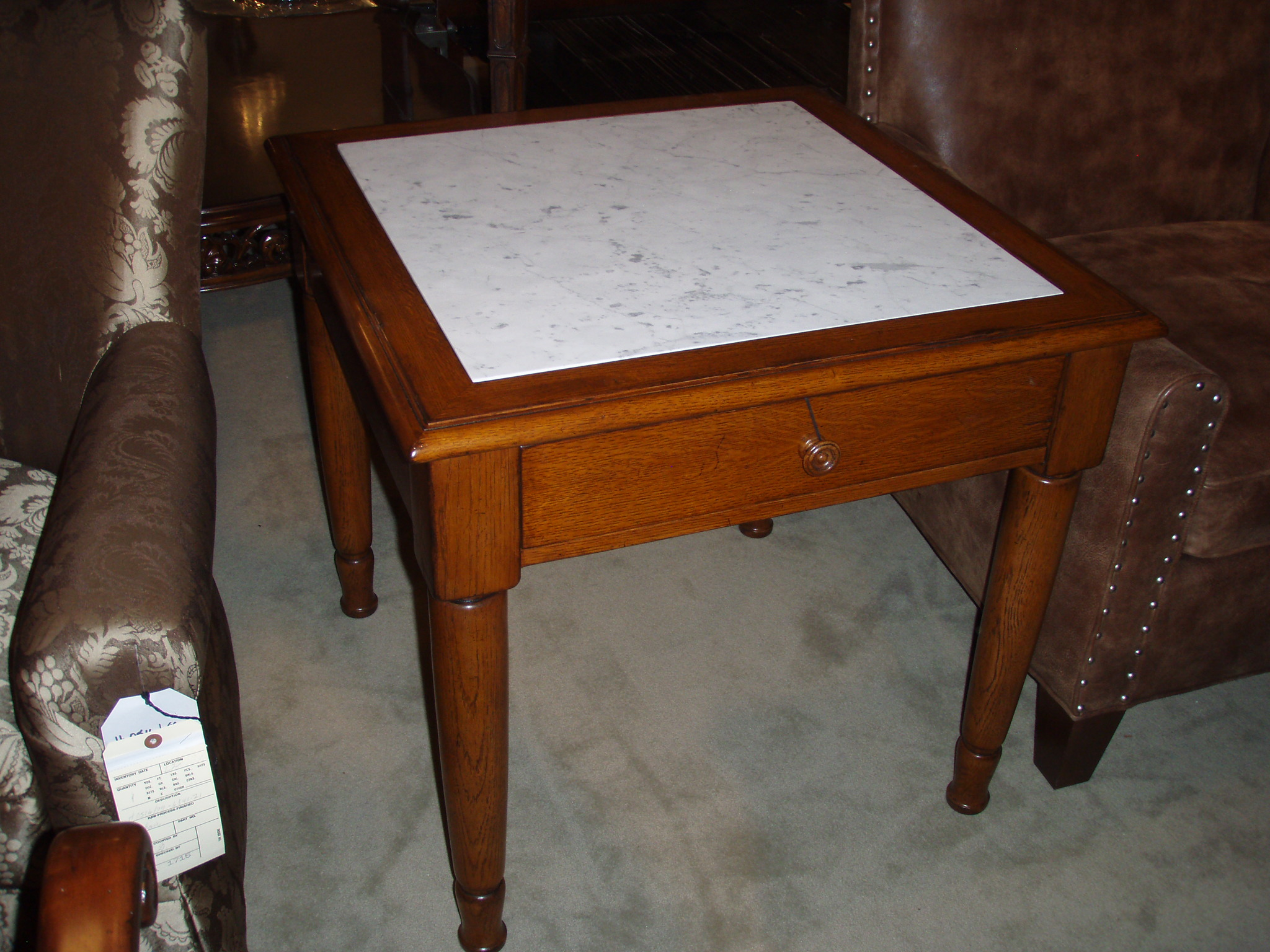 Ralph Lauren Hither Hills End Table ( Pair ) $1095 Each